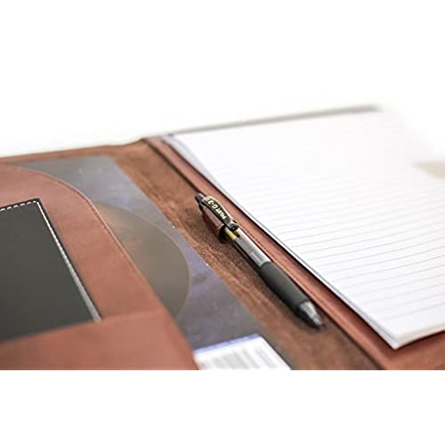 85%OFF Professional Leather Business Resume Portfolio Folder / Interview  Padfolio With Refillable Letter Size  Leather Resume Portfolio