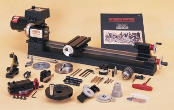 """3.5"""" x 17"""" lathe, chuck and C accessory package, inch"""