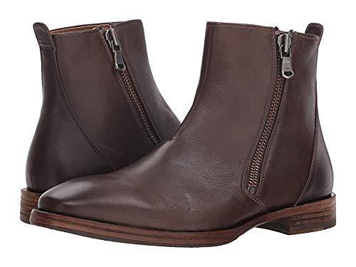 John Varvatos Men's Mitchell Zip Boot Wood Brown 8 D - Varvatos John Mens Zip