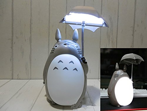 Totoro Anime LED Night Light[White Belly], Kid's Character Lamp ...
