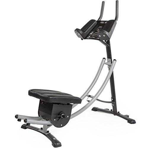 Regal Glider - XtremepowerUS Abdominal Crunch Coaster Fitness Equipment, Workout Machine (Ab Coaster)