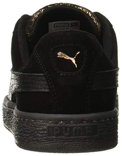 Wn's Suede Basse Nero Ginnastica Donna Scarpe 02 Black Artica Puma puma Heart Da puma Black tAnqRgwd