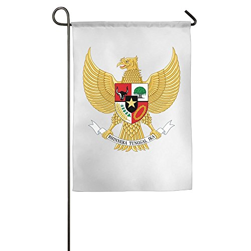 Indonesia Coat Of Arms - JIAJIA Coat of Arms Indonesia Premium Home Garden Flags 100% Polyester 1218,1827 Inch Foot