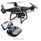 MADONGDONG HS100 FPV RC Drone with Camera Live Video and GPS Return Home Quadcopter with Adjustable Wide-Angle 720P HD WIFI Camera- Follow Me, Altitude Hold, Intelligent Battery, Long Control Distance