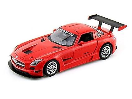 Amazon Com Mercedes Benz Sls Amg Gt3 1 24 Red Toys Games