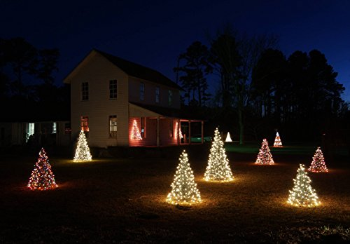 5' Crab Pot Tree w/350 Mini Lights - Clear by Crab Pot Christmas Trees (Image #2)