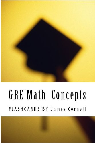 GRE Math Flashcards - Must Know Concepts, Formulas and Facts (Eton Test Prep - GRE Math)