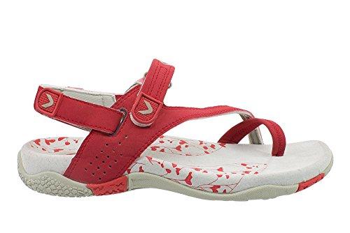 Kefas Sandalen Rot Damen Rot Damen Kefas Sandalen AT4v74tn