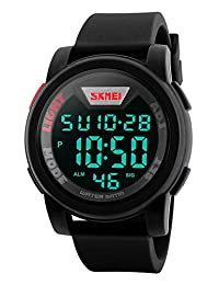 Gosasa Sport Watch Men Multifunction Digital Military Sports Watches Waterproof LED Electronics Silicone Strap Wristwatches