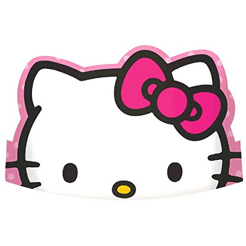 Paper Die-Cut Tiaras | Hello Kitty Rainbow Collection | Party Accessory -