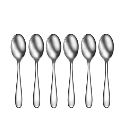 CraftKitchen Open Stock Stainless Steel Flatware Sets (Classic, Cocktail Spoons Set of 6)