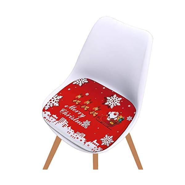 Fablcrew Cuscini per sedie, Morbido Cuscino per Sedia Cuscino Sedia Cucina da Giardino, per Cuscino Auto, Cuscino per… 7 spesavip