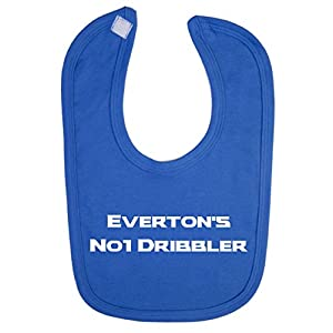 Everton's No 1 Dribbler Baby Bib
