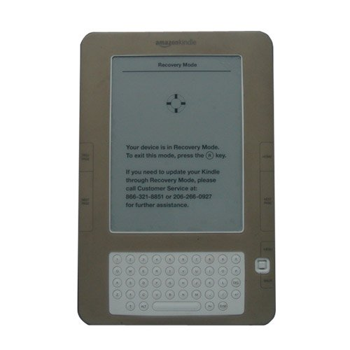 Amazon Kindle 2 (2nd Generation) Silicone (SMOKE) Skin Cover Case