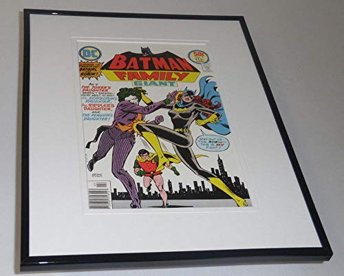 Batman Family Giant #9 Framed 11x14 Repro Cover Display Joker's Daughter