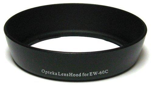 Opteka EW-60C Lens Hood for Canon EF 28-80mm f/3.5-5.6 I, II, III, IV, V Lens, EF-S 18-55mm f/3.5-5.6 I, II, is, USM Lens & EF 28-90mm f/4.0-5.6 II, II USM, III Lenses