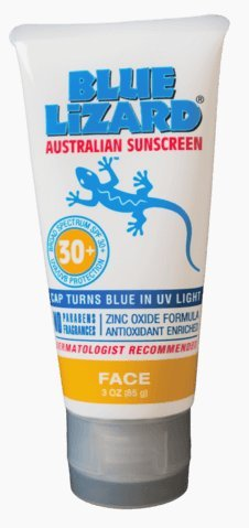 Blue Lizard Australian Sunscreen, Face, SPF 30+ 3 fl oz