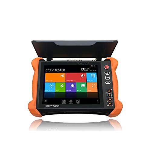 Read About SGEF IP Camera Tester 8 Inch 2K Retina Touch Screen CCTV Tester Monitor with CVBS/TVI/CVI...