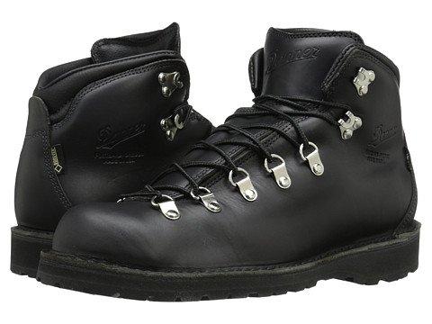 (ダナー)Danner メンズハイキングアウトドアブーツ靴 Mountain Pass [並行輸入品] B07455KHQ9 11 (29cm) EE Wide|Black Glace Black Glace 11 (29cm) EE Wide