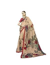 KIMANA Indian Designer Ethnic Bollywood Traditional Cotton Silk Saree S4068