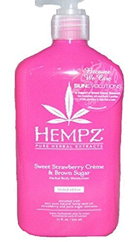 Hempz Sweet Strawberry Creme & Brown Sugar Herbal Body Moist