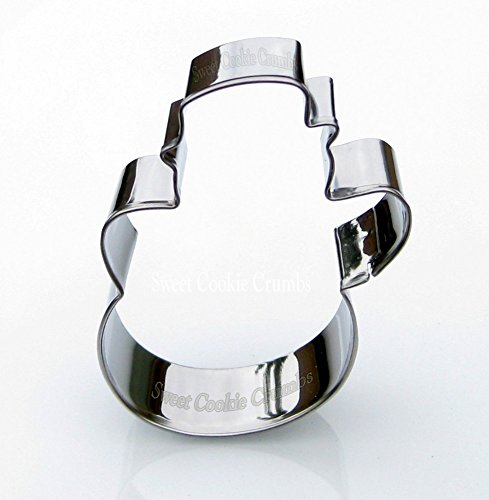 (Snowman Cookie Cutter- Stainless Steel)
