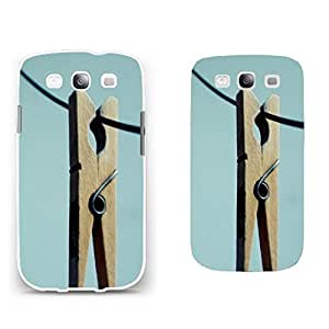 Hard Plastic Customize Design Graphics Back Case Skin for Mobile Phone Samsung Galaxy S3 I9300 Case Cover Protector (mint green BY154)