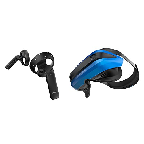 Acer AH101-D8EY Windows Mixed Reality Headset and 2 Wireless Controllers