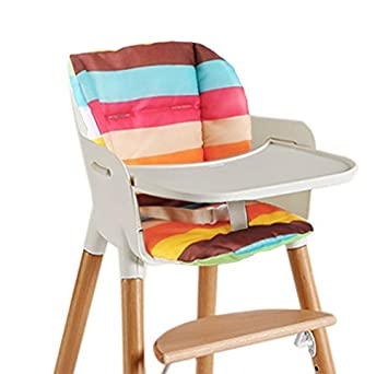 Asunflower High Chair Pad Warming Seat Cushion Stroller Liner Covers For Woodenplastic Highchair