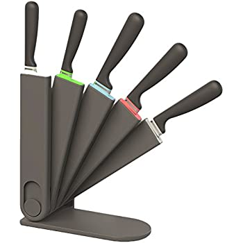 Amazon Com Venn Kitchen 3 Way Storage Knife Block Set