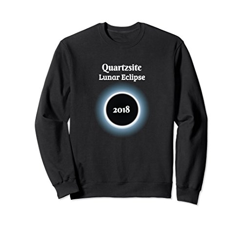 Unisex Quartzsite Lunar Eclipse 2018 Commemorative Sweatshirt 2XL - Snowbird Destinations