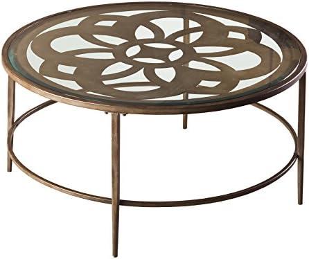 Hillsdale Marsala Metal Coffee Table