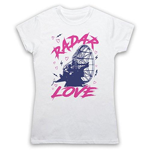 Golden Earring Radar Love Camiseta para Mujer Blanco
