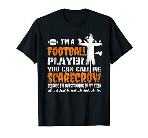 Football Player Halloween Costume 2018 T Shirt -