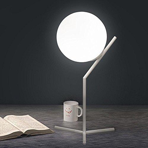 Gcr Light Ball Tischlampe Einfach Schlafzimmer Nachttischlampe