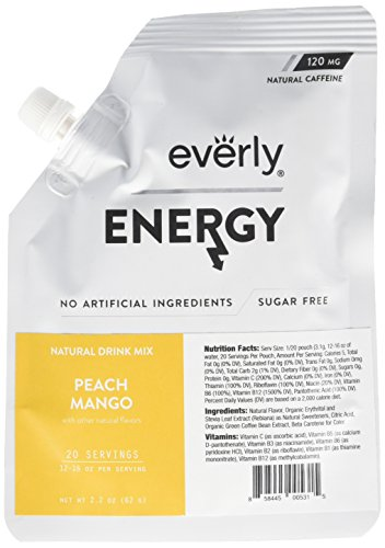 Everly Powdered servings Natural Calorie product image