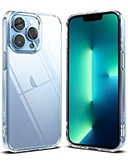 Ringke Fusion Kompatibel med iPhone 13 Pro Max Skal, Skyddande Klar Fodral - Clear