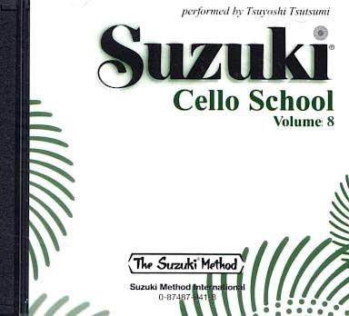 Suzuki Cello School Volume 8 - Compact Disc (Tsutsumi) (Suzuki Book 8 Cello)