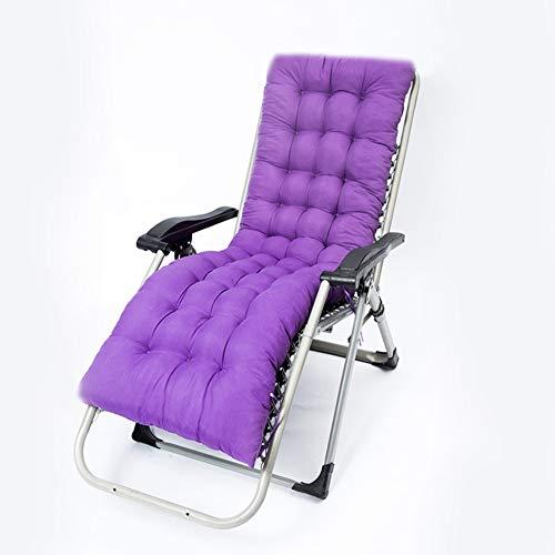 Interiores Aire libre Conjunto amortiguador silla mecedora Almohadilla Antideslizante Cojines eje balancín Chaise lounge...