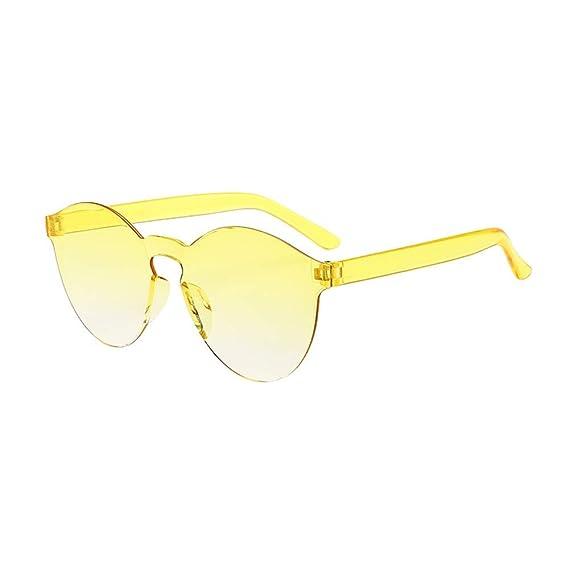 Gafas de Sol Hombres y Mujeres, ☀ URIBAKY Clásico Sin Marco ...