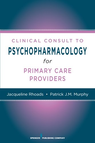 Nurses' Clinical Consult to Psychopharmacology Pdf