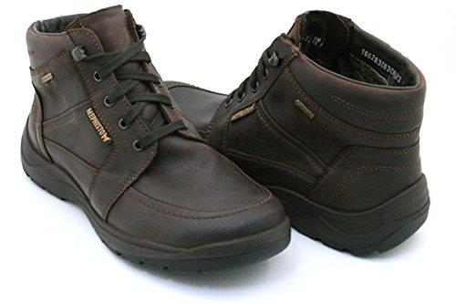 Mephisto Chaussures Lacets En Cuir À La Taille De L'homme Brun Marron: 41,5