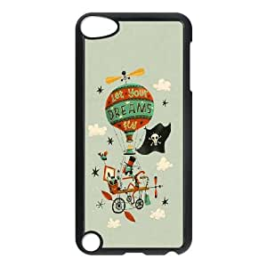 iPod Touch 5 Case Black Let Your Dreams Fly LV7999028