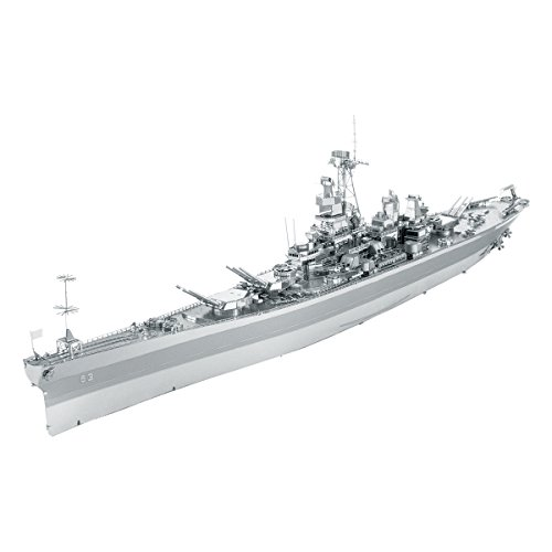 fascinations ICONX USS Missouri (BB-63) 3D Metal Model Kit from fascinations