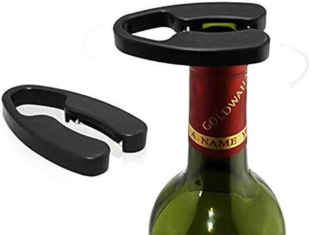 YFOX - Cortador de botellas de vino, cortador de papel de aluminio de doble filo, sacacorchos para abrir el vino de forma limpia e inofensiva, también es un buen accesorio para vino.