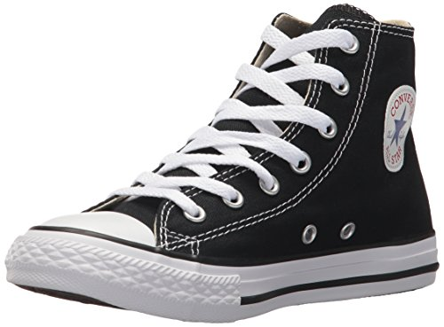 Converse Kid's Chuck Taylor All Star High Top Shoe, black, 2 M US Little Kid