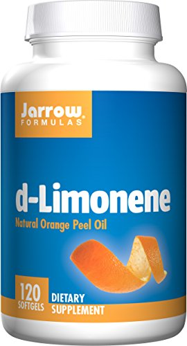 Jarrow Formulas D-Limonene, Stimulates Phase I and Phase II Detoxifying Enzyme Systems As Well As the Overall Immune System*, 120 Softgels