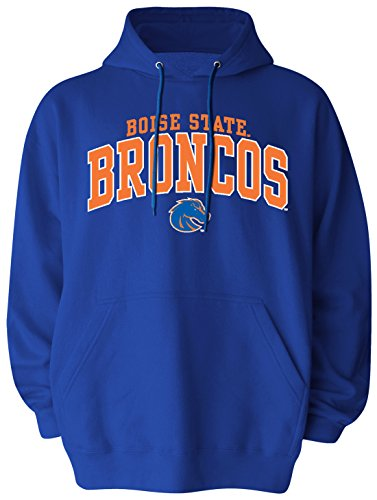 Old Varsity Brand NCAA Boise State Broncos Men's Big Pullover Hoodie, 3X-Large Tall, Royal (Broncos Ncaa Applique)