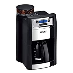 KRUPS Coffee Maker, Grind and Brew, Automatic Coffee Maker with Burr Grinder, 10-Cups, Black, Model KM785D50. Combining a range of impressive features with the unique taste of freshly-brewed Coffee, KRUPS grind & brew Coffee maker ...
