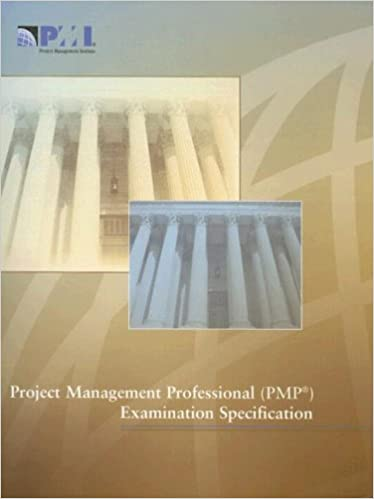 Project Management Professional Pmp Examination Specification